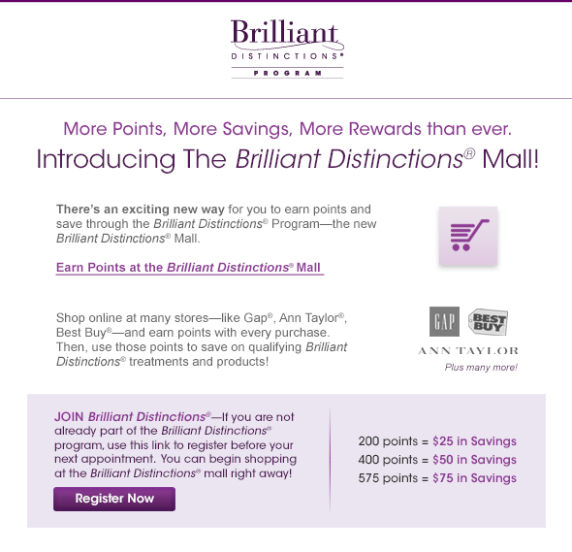 Get free Botox®, Juvederm®, and Latisse® with Brilliant