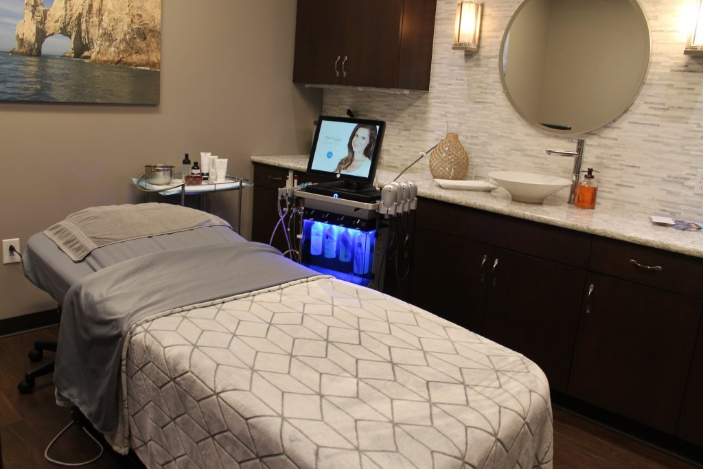 Medical spa procedure room